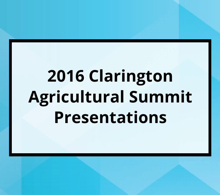 2016 Agricultural Summit