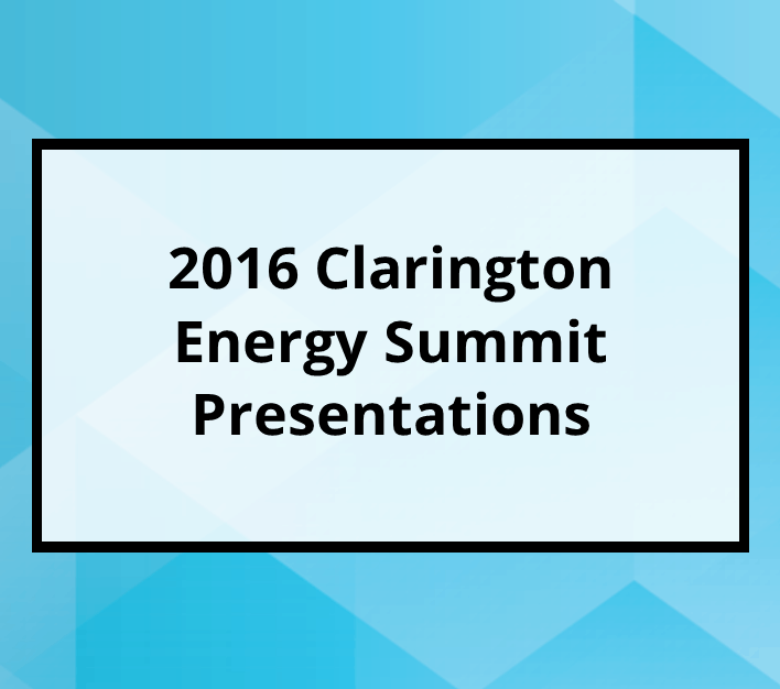2016 Clarington Energy Summit