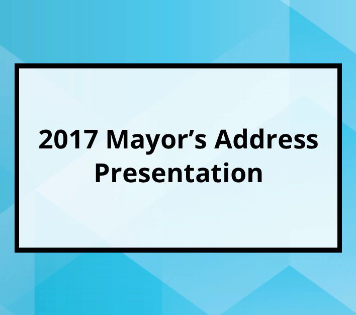 2017 Mayor's Address