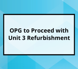 OPG Unit 3 Refurb Approved