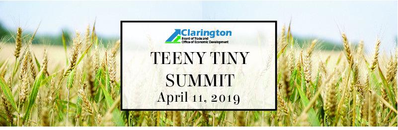 Teeny Tiny Summit 2019 – Big Ideas for Small Places